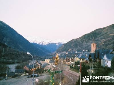 Esquí Baqueira; excursiones gratis; senderismo singles